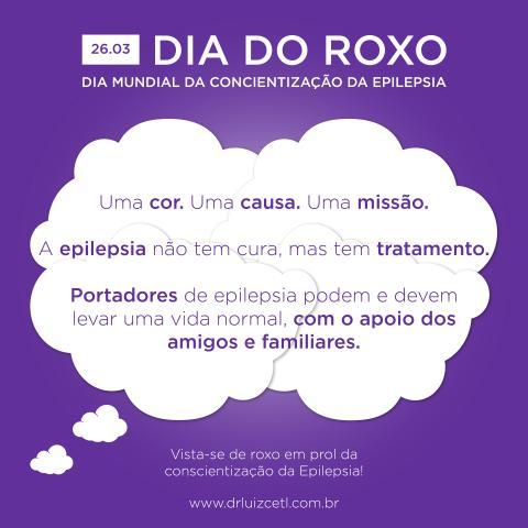 Dia Roxo: Data em prol da Conscientização da Epilepsia – Você sabia que há diferentes sintomas da doença?